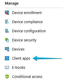 Intune > Client Apps > Microsoft Edge