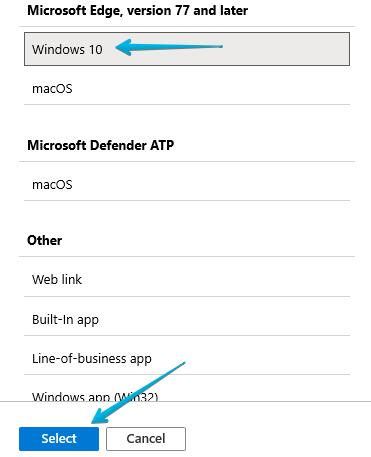 5 - Intune - Client Apps - Microsoft Edge