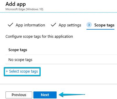 8 - Intune - Microsoft Edge - Scope